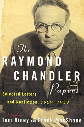 9780802139467: The Raymond Chandler Papers: Selected Letters and Nonfiction 1909-1959