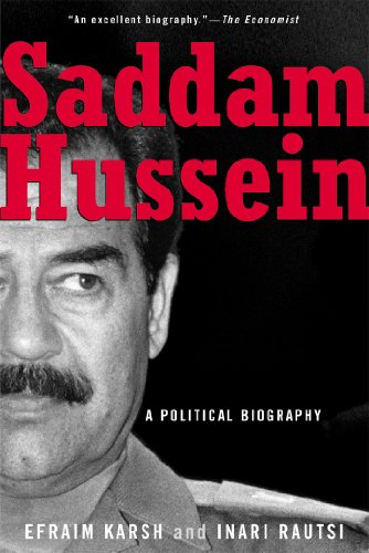 Saddam Hussein : a political biography.: Karsh, Efraim., Rautsi, Inari.