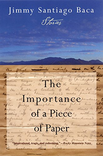 9780802141811: The Importance of a Piece of Paper: Stories