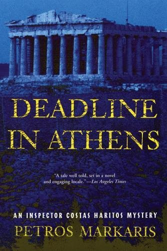 9780802142078: Deadline in Athens: An Inspector Costas Haritos Mystery
