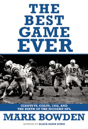 9780802144126: The Best Game Ever: Giants vs. Colts, 1958, and the Birth of the Modern NFL