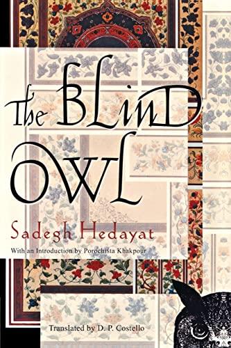 9780802144287: The Blind Owl