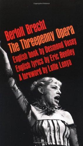 9780802150394: The Threepenny Opera (Brecht, Bertolt)