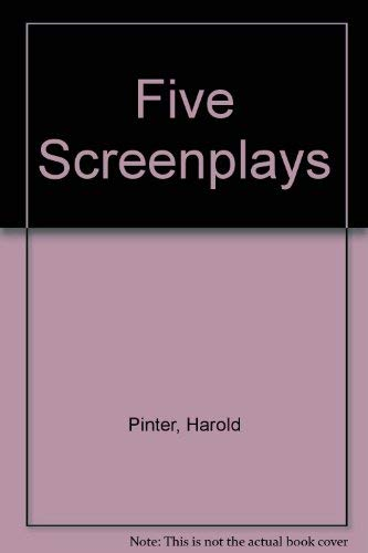 9780802151193: Five Screenplays