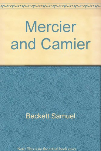 Mercier and Camier (9780802151353) by Beckett, Samuel