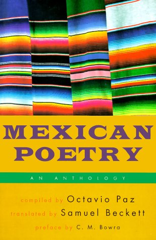 9780802151865: Mexican Poetry: An Anthology