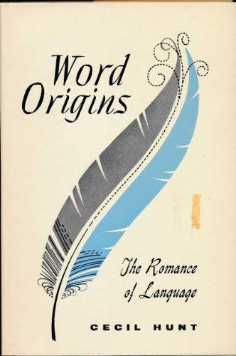 9780802207630: Word Origins: The Romance of Language