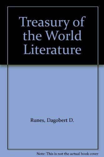 9780802214546: Treasury of the World Literature