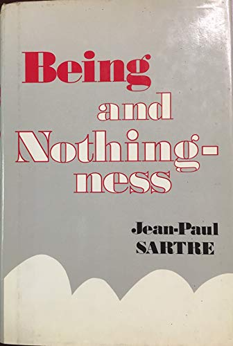 9780802214867: Being and Nothingness: An Essay on Phenomenological Ontology
