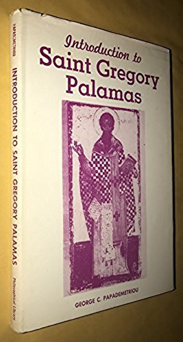 9780802221209: Introduction to Saint Gregory Palamas,