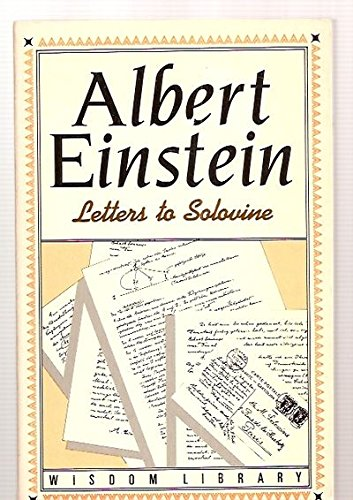 9780802225269: Letters to Solovine (Philosophical Library Paperback Series)