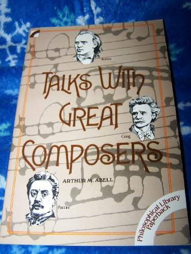 9780802225382: Talks with great composers