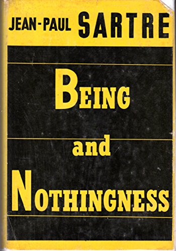 9780802225610: Being & Nothingness: An Essay on Phenomenological Ontology