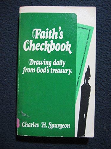 9780802400147: Faith's Checkbook