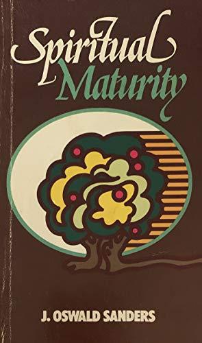 9780802401038: Spiritual Maturity
