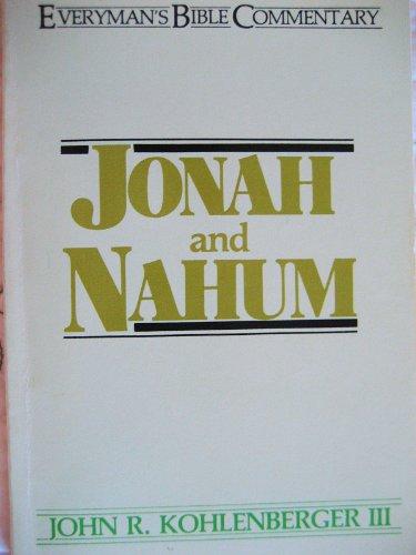 9780802403520: Jonah and Nahum (Everyman's Bible Commentary Series)