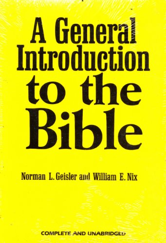 9780802404152: A General Introduction to the Bible