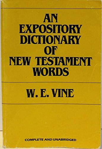 9780802404350: Expository Dictionary of New Testament Words (Affordables)