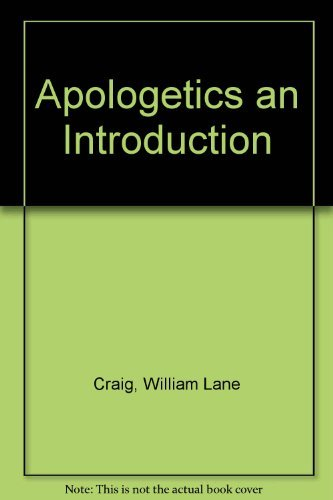 9780802406538: Apologetics an Introduction