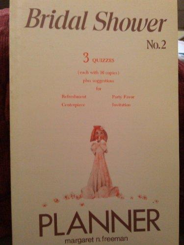 9780802406675: Bridal Shower Planner, No. 2