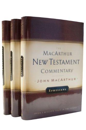 Pauline Epistles-Ephesians,Philippians,Col/Philemon-MacArthur NT Commentary Set (MacArthur New Testament Commentary Series) (0802408206) by John F. MacArthur Jr.