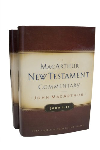 John Volumes 1 & 2 MacArthur New Testament Commentary Set (MacArthur New Testament Commentary Series) (0802408486) by John F. MacArthur Jr.