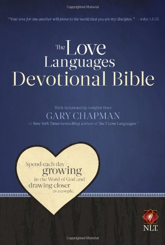 9780802408532: Love Languages Devotional Bible-NLT (New Living Translation)