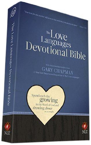 9780802408549: Love Languages Devotional Bible-NLT (New Living Translation)