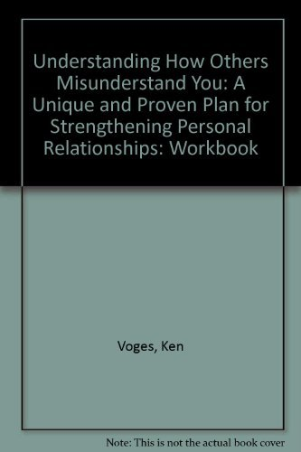 9780802410993: Understanding How Others Misunderstand You (Work Book)