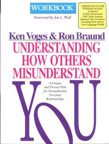 9780802411051: Understanding How Others Misunderstand You: Workbook