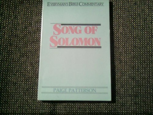 9780802420572: Song of Solomon (Everyman's Bible Commentary)