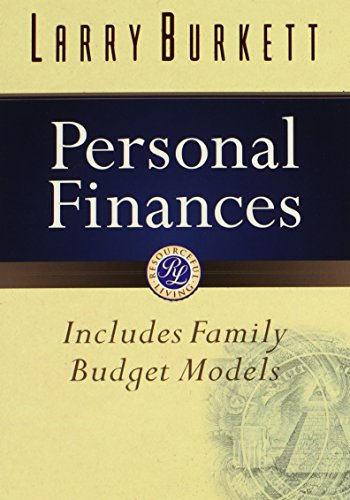 Personal Finances (Burkett Financial Booklets): Burkett, Larry