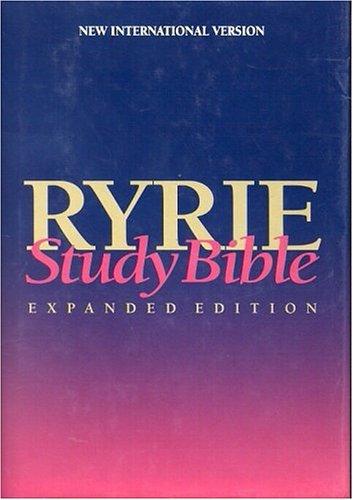 9780802438508: Ryrie Study Bible NIV Hardback- Red Letter (Ryrie Study Bibles)