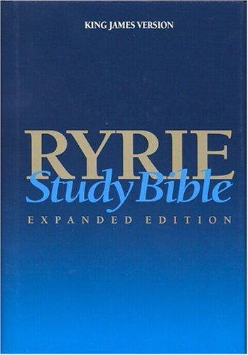 9780802438591: Ryrie Study Bible KJV Hardback- Red Letter (Ryrie Study Bibles)