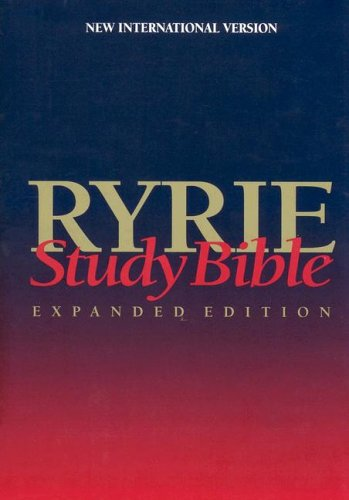 9780802438751: Ryrie Study Bible: New International Version : Expanded Edition