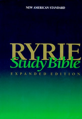 9780802438911: Ryrie Study Bible NAS Hardback- Red Letter Indexed (Ryrie Study Bibles)