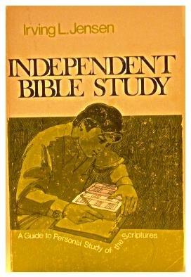 Independent bible study irving jensen