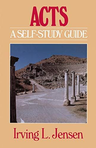 9780802444523: Acts- Jensen Bible Self Study Guide (Jensen Bible Self-Study Guide Series)