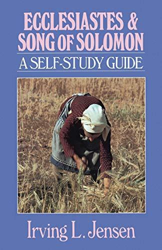9780802444721: Ecclesiastes & Song of Solomon- Jensen Bible Self Study Guide (Jensen Bible Self-Study Guide Series)