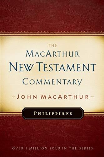 Philippians (0802452620) by John F MacArthur; John F. MacArthur