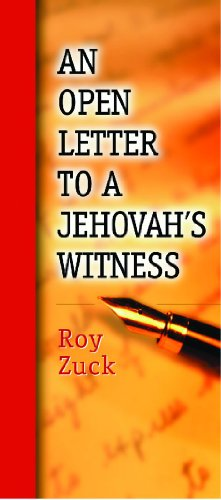 9780802464385: Open Letter To a Jehovahs Witness-in Packages of 10 Pamphlets