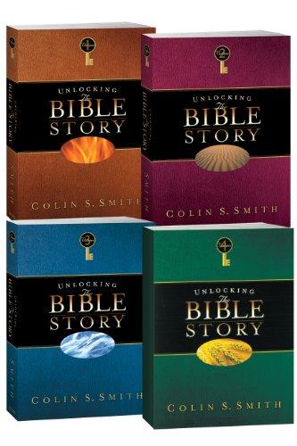 Unlocking the Bible Story 4 Volume Set (Hardback): Colin S Smith