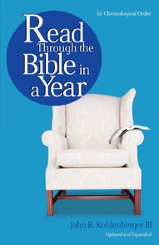 Read Through the Bible in a Year (9780802471673) by John R. Kohlenberger III
