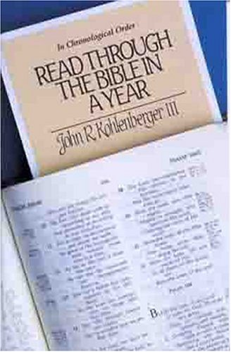 9780802471680: Read Through the Bible in a Year: In Chronological Order