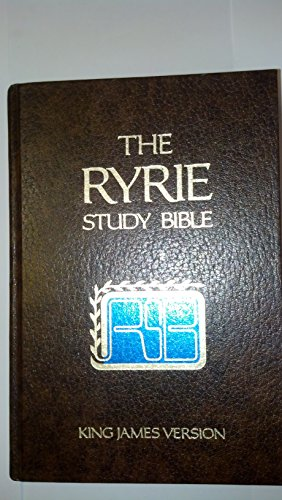 9780802474216: The Ryrie Study Bible: King James Version