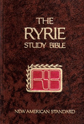 9780802474254: Ryrie Study Bible (NEW AMERICAN STANDARD)