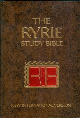 The Ryrie Study Bible: New International Version: Ryrie, Charles Caldwell