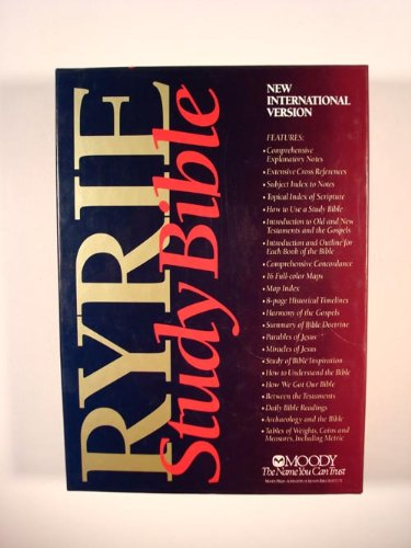 9780802475343: Ryrie Study Bible