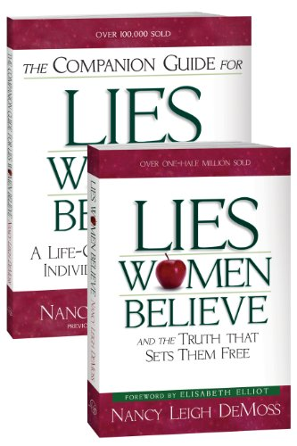 9780802476005: Lies Women Believe/Companion Guide for Lies Women Believe- 2 book set