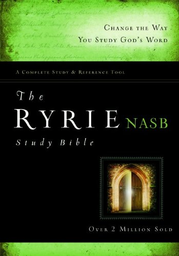 9780802489203: Ryrie Study Bible: New American Standard Bible, Red Letter